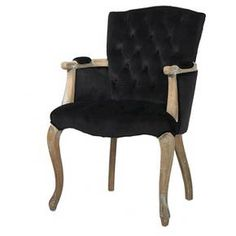 Moria Velvet Dining Chair Wood - Christopher Knight Home