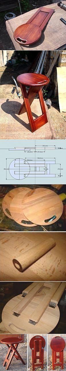 10 fabelhafte nützliche Tipps: Woodworking Quotes Fun Woodworking Ana W Folding furniture Folding Furniture, Furniture Projects, Wood Furniture, Wood Projects, Projects To Try, Folding Stool, Furniture Plans, Furniture Stencil, Small Furniture