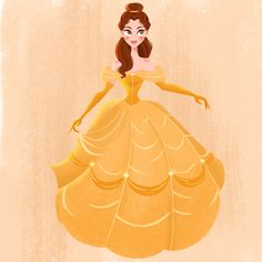'Tale as old as time' I forgot how much I love this movie's soundtrack! Belle's yellow dress is also one of my favourite Disney outfits, so it was really fun to finally do a proper piece to celebrate it. I usually don't include the original sketch because they're always really sloppy but this one turned out ok so I thought I'd show it swipe to see