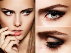 Makeup Tips For Deep Set Eyes, How to Apply Eye Makeup for Deep Set Eyes. Deep-set eyes are wonderful, because you can experiment with all sorts of . Prom Eye Makeup, Asian Eye Makeup, Prom Makeup Looks, Natural Eye Makeup, Eye Makeup Tips, Smokey Eye Makeup, Makeup Ideas, Makeup Tutorials, Makeup Tricks