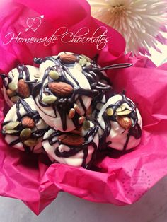 Easy Homemade Chocolates special gift idea for Valentines Day #ABRecipes #Valentines