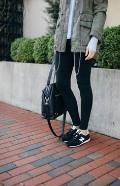 How to wear leggings with tennis shoes new balance 44 Ideas for 2019 … – tennis shoe outfit winter Fall Fashion Outfits, Mom Outfits, Winter Outfits, Autumn Fashion, Casual Outfits, Summer Outfits, Casual Wear, Mom Fashion, Casual Fall