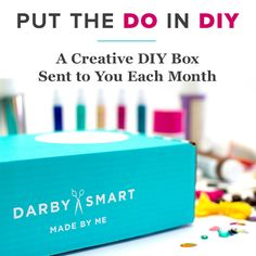 Get a DIY project each month in this monthly box