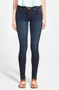 Free shipping and returns on STS Blue 'Piper' Skinny Jeans at Nordstrom.com. Super-skinny jeans are cast in deep indigo blue and styled with gentle whiskering and faded details for a cool finish to a versatile style.