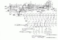 Spitfire Cross Sections