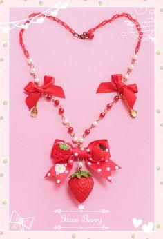 "Hawberry x Lolitas & Colitas ""Strawberry Temptation"" series"