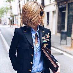 Стиль Susi Rejano (трафик) / О стиле / ВТОРАЯ УЛИЦА Casual Work Outfits, Work Casual, Casual Chic, Dress Over Pants, Elegantes Outfit, Foto E Video, Celine, Style Icons, Style Me