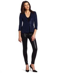 Yoana Baraschi Women's Matte Sequin Couture Blazer