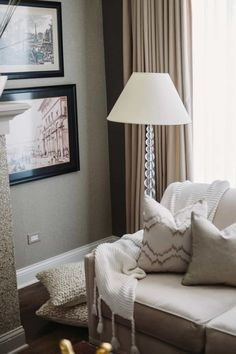 Living Room With Framed Wall Pictures And Floor Lamp Decoration, Decoration İdeas Party, Decoration İdeas, Decorations For Home, Decorations For Bedroom, Decoration For Ganpati, Decoration Room, Decoration İdeas Party Birthday. #decoration #decorationideas