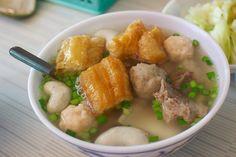Combo Soup, Tainan  #Taiwan #food 台南 綜合湯