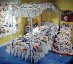Rainbow Brite dream room!