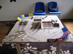 Monster Truck Rally Table