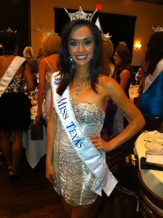 Sweet Miss Texas is wearing the FAITH necklace that Tanza wears.  It's my favorite piece.