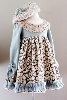 Winter Wonderland Dress Tutorial - The Cottage Mama