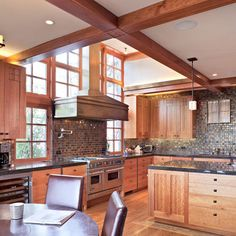 Craftsman Style Kitchen Cabinets Design, Pictures, Remodel, Decor and Ideas - page 5