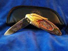 B11YM68 model 74 - Franklin Mint Harley Davidson Motorcycle Pocket Knife