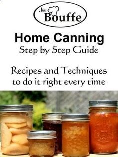 Home Canning Step-by-Step Guide