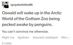 The penguins saved him!!