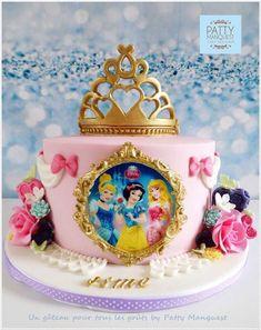 3 tier pastel princess cake with handmade rose – Artofit Disney Princess Birthday Cakes, Princess Theme Party, Disney Birthday, Birthday Cake Girls, 4th Birthday, Princess Birthday Centerpieces, Birthday Ideas, Disney Cakes, Disney Cake Pops