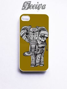 Elephant Tatto Inspiration Phone Cases For iPhone, Samsung, Sony iPod | Feeiva