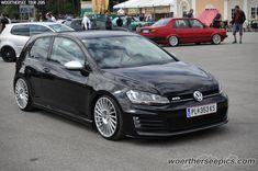 https://flic.kr/p/D8PyBA   Black VW Golf Mk7 GTD   Woerthersee Tour GTI-Treffen 2015 - www.woertherseepics.com/