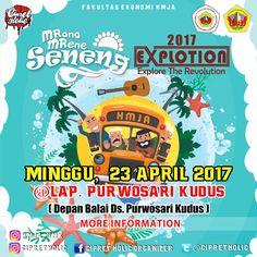 HMJA UMK Featuring Cipret Holic Present  MRONO MRENE SENENG EXPLOTION 2017 (Explore The Revolution) MINGGU, 23 APRIL 2017 @LAP. PURWOSA...