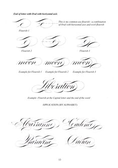 Flourish Calligraphy, Calligraphy Worksheet, Calligraphy Doodles, Copperplate Calligraphy, Calligraphy Words, Learn Calligraphy, Beautiful Calligraphy, Calligraphy Alphabet, Penmanship