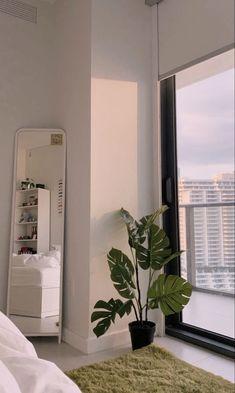 Room Ideas Bedroom, Bedroom Decor, Men Bedroom, White Bedroom, Bedroom Inspo, Minimalist Room, Dream Apartment, Aesthetic Room Decor, Cozy Room