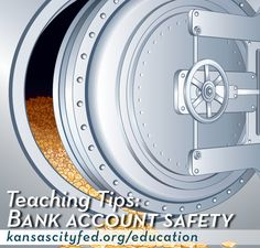Teaching middle school students how bank accounts are protected during a bank failure. Teaching Economics, Banking Crisis, Bank Safe, Financial Literacy, Bank Account, Business School, Teaching Tips, Personal Finance, Social Studies