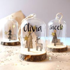Are you interested in our Personalised Wooden Snow Globe Bauble? With our Personalised Sandi Style Christmas Decoration you need look no further. Personalised Snow Globes, Personalised Christmas Tree Decorations, Personalised Bauble, Personalized Gifts, Christmas Gifts For Kids, Christmas Baubles, Xmas Gifts, Christmas Ideas, Christmas Time