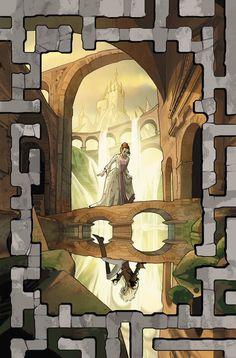 Jim Henson's Labyrinth: Coronation Issue - Read Jim Henson's Labyrinth: Coronation Issue comic online in high quality Labyrinth Tattoo, Labyrinth Film, Labyrinth Goblins, Jim Henson Labyrinth, Fantasy Movies, Fantasy Art, David Bowie, Goblin King, Faeries
