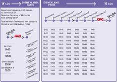 Horaires Disneyland® Paris - Aéroport de Roissy-Charles-de-Gaulle