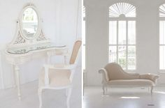 White and beige combos   www.interiorich.com/wp-content/uploads/2011/05/Draw-White-Beige-Interiror-Design-Style-French-Furniture.jpg