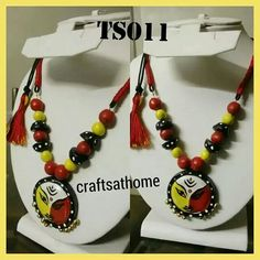 Ethnic hand painted neck piece-- https://m.facebook.com/rama.craftsathome