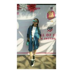 What I wore to the #popxobff yesterday! Headed out for day 4 at #AIFWSS17 by giving this outfit my own twist! Lots and lots of love for @vajor 💜 lilmissgurung#lilmissgurungblog #lilmissgurung #wiw #bloggerstyle #bloggersquad #aifw #fashionweek #fashionblogger #blog #blogger #fashion #streetstyle #nath #dhotiskirt #ootd #ootn #personalstyle #indianfashion #vajor