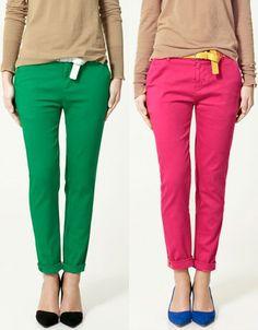 Calças Coloridas!   Vida Joy
