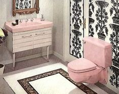 1960s American Standard Venetian Pink Bathrom - It's Easy To Add Mid-Century Kitsch To Any Bathroom! eBay Guide