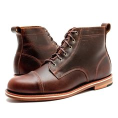Based off of traditional American work boots, The Muller can complete a wide…