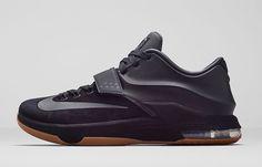 #Nike KD 7 EXT Black Suede #sneakers