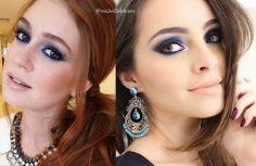 Michelli Make Up: Maquiagem Azul - Inspiração Marina Ruy Barbosa