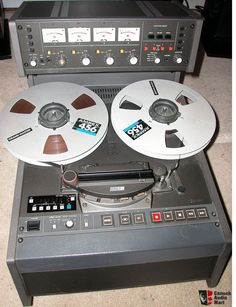 Otari MX5050 MkIV-4: Four-Track 1/2 Inch Reel To Reel - www.remix-numerisation.fr - Rendez vos souvenirs durables ! - Sauvegarde - Transfert - Copie - Digitalisation - Restauration de bande magnétique Audio - MiniDisc - Cassette Audio et Cassette VHS - VHSC - SVHSC - Video8 - Hi8 - Digital8 - MiniDv - Laserdisc - Bobine fil d'acier - Micro-cassette - Digitalisation audio - Elcaset Audio Music, Audio Sound, Recorder Music, Tape Recorder, Recording Equipment, Audio Equipment, Cassette Vhs, High End Hifi, Tvs