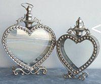 Hjerte Lanterne I Antik Sølv