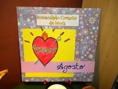 Página Litúrgica para el mes de Agosto: Mes dedicado al INmaculado Corazón de María