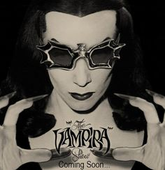 theniftyfifties:  'The Vampira Show' promo.