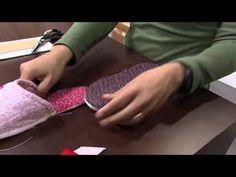 ▶ Chinelo Pantufa Feminino com Tecidos Ibirapuera Textil por Ligia Mara - YouTube