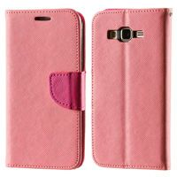 Kabura etui Fancy Series do Samsung Galaxy Grand Prime G530F różowe