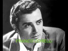 """"""" SENZA NISCIUNO """".- cantano 2 famosi tenori - FRANCO CORELLI & TITO SCHIPA autore DE CURTIS - YouTube"""