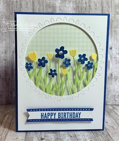 GET WELL SOON Handmade 3d Die Cut /& Embossed Lilac Floral Greeting Card with coordinating Background