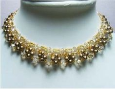 Free Beaded Necklace Pattern featured in recent Bead-Patterns.com Newsletter!