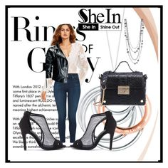 """""""SheIn 7"""" by dinka1-749 ❤ liked on Polyvore featuring Tiffany & Co., J Brand and Leka"""